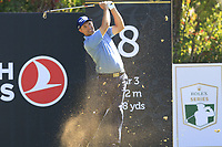 Padraig Harrington (IRL) tees off the 8th tee during Saturday's Round 3 of the 2018 Turkish Airlines Open hosted by Regnum Carya Golf &amp; Spa Resort, Antalya, Turkey. 3rd November 2018.<br /> Picture: Eoin Clarke | Golffile<br /> <br /> <br /> All photos usage must carry mandatory copyright credit (&copy; Golffile | Eoin Clarke)