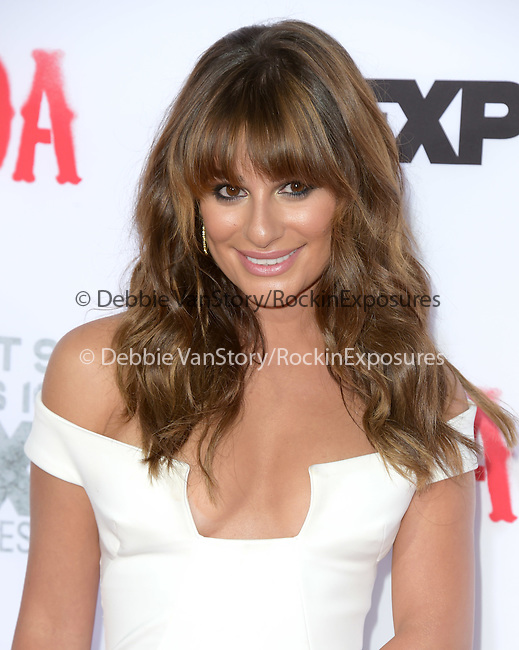 Lea Michele attends  FX's SONS OF ANARCHY Premiere Screening held at The TCL Chinese Theatre  in Hollywood, California on September 06,2014                                                                               © 2014 Hollywood Press Agency