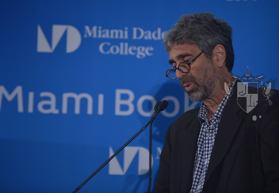 MIAMI, FL - NOVEMBER 16: Mitchell Kaplan attends The Miami Book Fair at Miami Dade College Wolfson - Chapman Conference Center on November 16, 2017 in Miami, Florida.  ( Photo by Johnny Louis / jlnphotography.com )