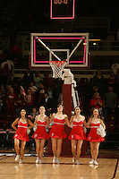 STANFORD, CA - JANUARY 10:  Dollies of the Stanford Cardinal during Stanford's 102-53 win against the Washington State Cougars on January 10, 2009 at Maples Pavilion in Stanford, California.