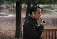 Professor Paul Nam, Dec. 22, 2015.<br /> (Photo by Marc Campos, Occidental College Photographer)