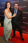 Nora Ariffin and Duncan Sheik attends the Broadway Opening Night of 'AMERICAN SON' at the Booth Theatre on November 4, 2018 in New York City.