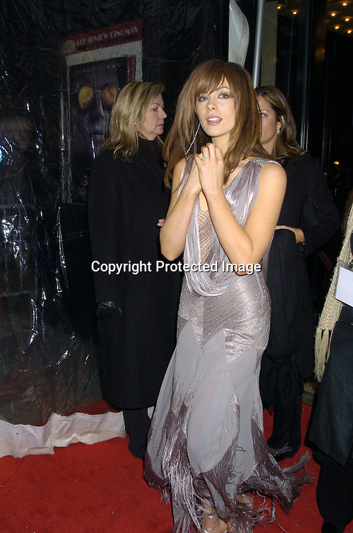 """Kate Beckinsale ..at The New York Premiere of """"The Aviator"""" on December 14, 2004 at The Ziegfeld Theatre. ..Photo by Robin Platzer, Twin Images"""
