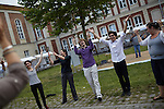"17.6.2014, Potsdam, Universität Potsdam Campus Neues Palais. Israeltag – Spontan-Tanzkurs ""Israelische Tänze"""
