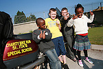 Beni and Safi  Shamauu, Dylan McKenna and John Everitt at the Start of the Run of the Country Motorcycle Run at St.Itas School...Photo NEWSFILE/Jenny Matthews.(Photo credit should read Jenny Matthews/NEWSFILE)....This Picture has been sent you under the condtions enclosed by:.Newsfile Ltd..The Studio,.Millmount Abbey,.Drogheda,.Co Meath..Ireland..Tel: +353(0)41-9871240.Fax: +353(0)41-9871260.GSM: +353(0)86-2500958.email: pictures@newsfile.ie.www.newsfile.ie.FTP: 193.120.102.198.