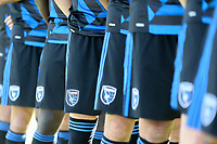 San Jose, CA - Saturday July 29, 2017: Detail of San Jose Earthquakes uniform prior to a Major League Soccer (MLS) match between the San Jose Earthquakes and Colorado Rapids at Avaya Stadium.