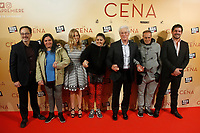MADRID, SPAIN-December 11: Richard Gere and Alejandra Silva attend the premiere of La Cena along with homeless people at the Capitol theater in Madrid, Spain December11, 2017. Credit: Jimmy Olsen/Media Punch ***NO SPAIN*** /nortephoto.com NORTEPHOTOMEXICO