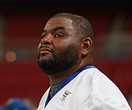 Orlando Pace was honored at halftime of the game because of his induction into the Pro Football Hall of Fame.