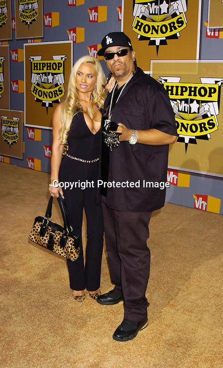 Coco and Ice T..at the 2nd Annual VH1 Hip Hop Honors taping on ..September 22, 2005 which will air on VH1 on September 26, 2005. ..Photo by Robin Platzer, Twin Images