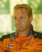 20030918, Zwolle, Davis Cup, NL-India, Captain Tjerk Bogtstra
