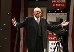 James Earl Jones.during the Broadway Opening Night Performance Curtain Call for 'Gore Vidal's The Best Man' at the Gerald Schoenfeld Theatre in New York City on 4/1/2012