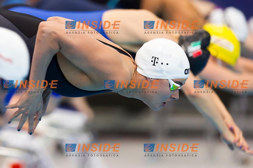 JAKABOS Zsuzsanna HUN<br /> London, Queen Elizabeth II Olympic Park Pool <br /> LEN 2016 European Aquatics Elite Championships <br /> Swimming<br /> Women's 200m medley preliminary  <br /> Day 10 18-05-2016<br /> Photo Giorgio Perottino/Deepbluemedia/Insidefoto