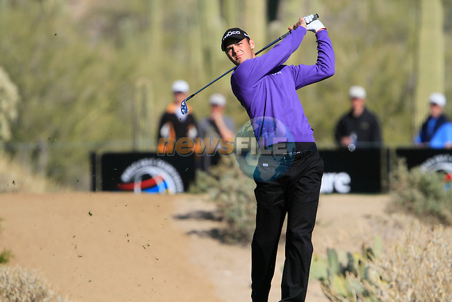 Martin Kaymer (GER) in action on the 16th hole during Day 2 of the Accenture Match Play Championship from The Ritz-Carlton Golf Club, Dove Mountain, Thursday 24th February 2011. (Photo Eoin Clarke/golffile.ie)