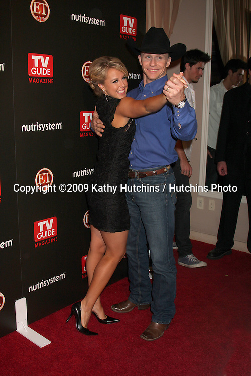 Ty Murray & Chelsie Hightower arriving at the TV Guide Magazine Sexiest Stars Party at the Sunset Towers Hotel in West Hollywood, CA on.March 24, 2009.©2009 Kathy Hutchins / Hutchins Photo....                .