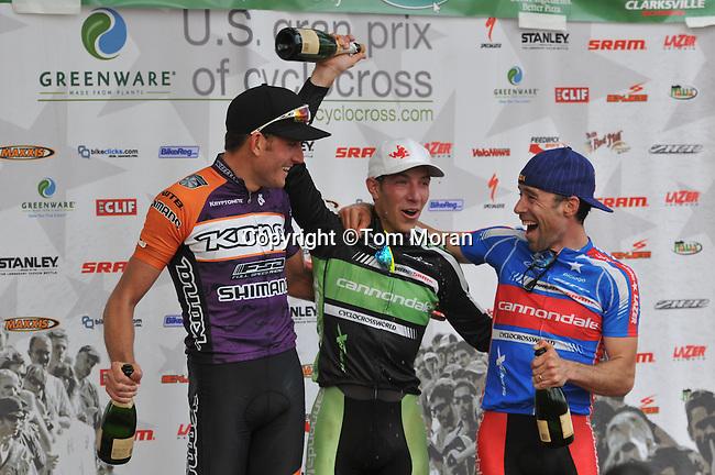 USGP Cyclocross #4, Eva Bandman Park, Louisville, KY.24 October 2010 Photo by Tom Moran