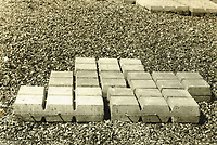 BNPS.co.uk (01202 558833)<br /> Pic: MitchellsAuctionHouse/BNPS<br /> <br /> PICTURED: The harbour's concrete mattresses in use.<br /> <br /> The fascinating archive of one of the engineers who designed the Mulberry Harbours which were installed off the Normandy coast following the D-Day landings has come to light.<br /> <br /> Colonel Vassal Charles Steer-Webster OBE helped create the giant, floating artificial harbours which protected anchored supply ships from German attacks.<br /> <br /> They were built in the dry docks on The Thames and Clyde and pulled across the channel by tugs before being hastily assembled.<br /> <br /> Col Steer-Webster was in almost daily contact with Churchill during their development ahead of June 6, 1944. Now, his personal effects, including a letter of thanks from Winston Churchill, are being sold by his nephew with Mitchells Auctioneers, of Cockermouth, Cumbria. <br /> <br /> The archive, which is expected to fetch £15,000, also features 150 photos showing Mulberry B's construction and use, as well as his medals.