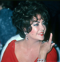 Elizabeth Taylor 1979<br /> Photo By John Barrett/PHOTOlink.