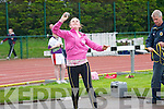 County Champion Sinead Warren Gneeveguilla Athletic Club, in the final of the Shot at the Gneeveguill Athletic Club,34th annaul open juvenile sports on Sunay at An Riocht Athletic Track, Castleisland.....