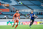 Jeju United Forward Hwang Ilsu (L) fights for the ball with Gamba Osaka Midfielder Ideguchi Yosuke (R) during the AFC Champions League 2017 Group H match Between Jeju United FC (KOR) vs Gamba Osaka (JPN) at the Jeju World Cup Stadium on 09 May 2017 in Jeju, South Korea. Photo by Marcio Rodrigo Machado / Power Sport Images