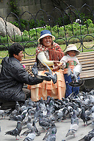 Pigeons of Plaza Murillo, Bolivia