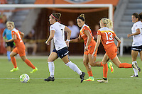 Houston, TX - Thursday Aug. 18, 2016: Christine Nairn, Amber Brooks, Denise O'Sullivan during a regular season National Women's Soccer League (NWSL) match between the Houston Dash and the Washington Spirit at BBVA Compass Stadium.