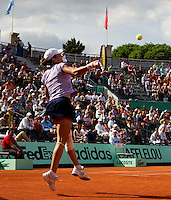 Alexandra Dulgheru (ROU) (31) against Caroline Wozniacki (DEN) (3)  in the second round of the women's singles. Caroline Wozniacki beat Alexandra Dulgheru 6-3 6-4..Tennis - French Open - Day 6 - Fri 28 May 2010 - Roland Garros - Paris - France..© FREY - AMN Images, 1st Floor, Barry House, 20-22 Worple Road, London. SW19 4DH - Tel: +44 (0) 208 947 0117 - contact@advantagemedianet.com - www.photoshelter.com/c/amnimages