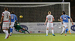 Hamilton Accies v St Johnstone...31.10.15  SPFL  New Douglas Park, Hamilton<br /> Jesus Garcia Tena scores from the penalty spot<br /> Picture by Graeme Hart.<br /> Copyright Perthshire Picture Agency<br /> Tel: 01738 623350  Mobile: 07990 594431