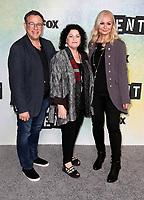 "08 January 2019 - Los Angeles, California - Julie Larson, Michael Greif, Angela Wendt. FOX Hosts ""RENT"" Press Junket held at the FOX Lot. Photo Credit: Faye Sadou/AdMedia"