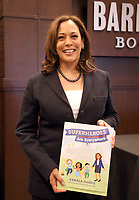 "Kamala Harris Signs Copies Of Her New Book ""Superheros Are Everywhere"""