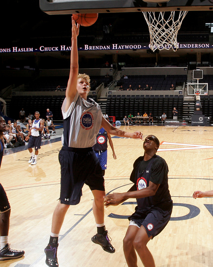Kellen McCormick at the NBPA Top100 camp June 18, 2010 at the John Paul Jones Arena in Charlottesville, VA. Visit www.nbpatop100.blogspot.com for more photos. (Photo © Andrew Shurtleff)