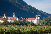 Austria, Tyrol, Stams in Tyrolean Upper Inn Valley: Cistercian Abbey Stams | Oesterreich, Tirol, Stams im Tiroler Oberinntal: Stift Stams
