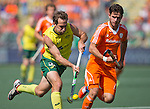 Hockey World Cup 2014<br /> The Hague, Netherlands <br /> Day 14 Men Final Australia v Netherlands<br /> Liam De Young<br /> <br /> Photo: Grant Treeby<br /> www.treebyimages.com.au