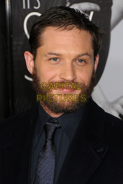 "Tom Hardy.""This Means War"" Los Angeles Premiere held at Grauman's Chinese Theatre, Hollywood, California, USA..February 8th, 2012.headshot portrait black beard facial hair  .CAP/ADM/BP.©Byron Purvis/AdMedia/Capital Pictures."