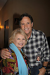 """Kathy Garver """"Cissie"""" A Family Affair and Robert Hays (Airplane at Chiller Theatre - Toy, Model and Film Expo was held over the weekend - October 27, 2013 at the Sheraton Hotel, Parsippany, New Jersey (Photo by Sue Coflin/Max Photos)"""