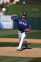 Connor Sadzeck - Texas Rangers 2016 spring training (Bill Mitchell)
