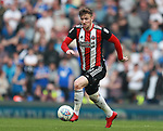 Lee Evans of Sheffield Utd during the championship match at St Andrews Stadium, Birmingham. Picture date 21st April 2018. Picture credit should read: Simon Bellis/Sportimage