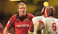 Cardiff, WALES.  MUNSTER'S, Paul O'Connell, during the  2006 Heineken Cup Final,  Millennium Stadium,  between Biarritz Olympique and Munster,  20.05.2006. © Peter Spurrier/Intersport-images.com,  / Mobile +44 [0] 7973 819 551 / email images@intersport-images.com.   [Mandatory Credit, Peter Spurier/ Intersport Images].14.05.2006   [Mandatory Credit, Peter Spurier/ Intersport Images].