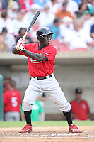 September 5, 2009: Jermaine Curtis of the Quad City River Bandits. The River Bandits are the Midwest League affiliate for the St. Louis Cardinals. Photo by: Chris Proctor/Four Seam Images