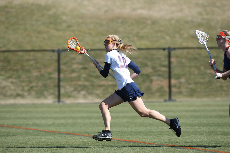 Virginia Cavalier men's and women's lacrosse at the University of Virginia in Charlottesville, VA. Photo/Andrew Shurtleff.