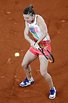 Simona Halep, Roumania, during Madrid Open Tennis 2016 Final match.May, 7, 2016.(ALTERPHOTOS/Acero)a