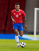 23rd March 2018, Hampden Park, Glasgow, Scotland; International Football Friendly, Scotland versus Costa Rica; Rodney Wallace of Costa Rica  in action