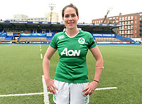 Ireland's Nora Stapleton is player of the match <br /> <br /> Photographer Ian Cook/CameraSport<br /> <br /> Women's Six Nations Round 4 - Wales Women v Ireland Women - Saturday 11th March 2017 - Cardiff Arms Park - Cardiff<br /> <br /> World Copyright &copy; 2017 CameraSport. All rights reserved. 43 Linden Ave. Countesthorpe. Leicester. England. LE8 5PG - Tel: +44 (0) 116 277 4147 - admin@camerasport.com - www.camerasport.com