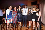 The gang from Cormane at the South & Mid Kerry Rowing Social pictured l-r; Aoife O'Connor, Mary B.Teahan, Breda Hayes, Shane Scannell, Leona Scannell, Hollie McKenna & Molly McCarthy.