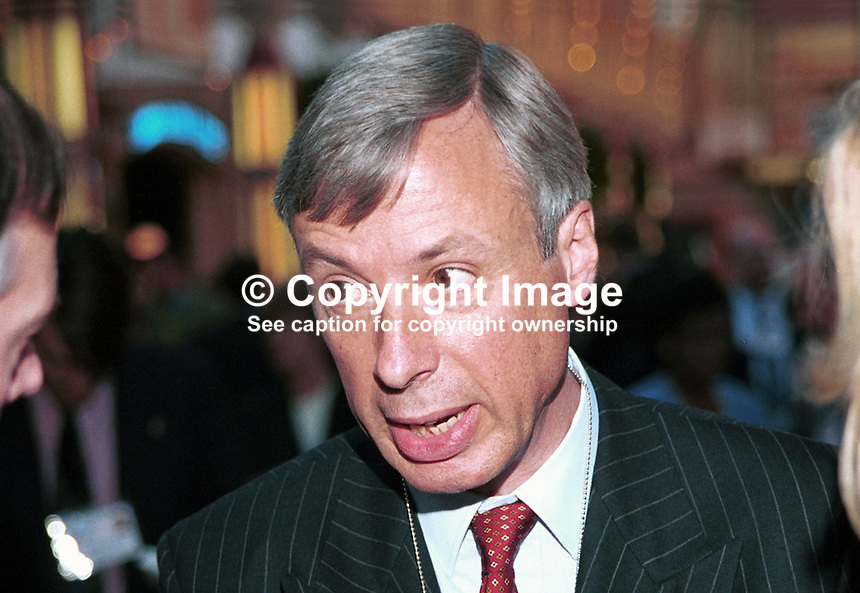 Earl Howe, Conservative Peer, 7th Earl, Britain. Taken at Conservative Party Conference, Blackpool. Ref: 199910139. AKA Frederick Richard Penn Curzon..Copyright Image from Victor Patterson, 54 Dorchester Park, Belfast, UK, BT9 6RJ..Tel: +44 28 9066 1296.Mob: +44 7802 353836.Voicemail +44 20 8816 7153.Skype: victorpattersonbelfast.Email: victorpatterson@mac.com.Email: victorpatterson@ireland.com (back-up)..IMPORTANT: If you wish to use this image or any other of my images please go to www.victorpatterson.com and click on the Terms & Conditions. Then contact me by email or phone with the reference number(s) of the image(s) concerned.