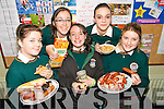CHARITY: Sutdents from the Killorglin Community College enjoying the the charity breakfast in aid of Childline which took place in the college on Friday last..Front L/r. Shannon O'Brien (Killorglin), Theresa O'Shea (Glencar), Rachel Cahill (Milltown)..Back L/r. Michelle Costello (Cromane), Louise Ahern (Killorglin)..   Copyright Kerry's Eye 2008