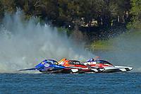 "Donny Allen, E-14 ""Legacy 1"", Jimmy King, E-2 ""Pleasure Seekers"" and John Shaw, E-1 ""TM Special""    (5 Litre class hydroplane(s)"