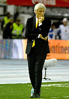 BARRANQUILLA - COLOMBIA -05-10-2017: Jose Pekerman técnico de Colombia durante partido contra de Paraguay de la fecha 17 por la clasificación a la Copa Mundial de la FIFA Rusia 2018 jugado en el estadio Metropolitano Roberto Melendez en Barranquilla. /  Jose Pekerman coach of Colombia during match against Paraguay of the date 17 for the qualifier to FIFA World Cup Russia 2018 played at Metropolitan stadium Roberto Melendez in Barranquilla. Photo: VizzorImage / Alfonso Cervantes / Cont