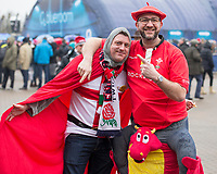 Fans enjoying the pre match atmosphere<br /> <br /> Photographer Bob Bradford/CameraSport<br /> <br /> NatWest Six Nations Championship - England v Wales - Saturday 10th February 2018 - Twickenham Stadium - London<br /> <br /> World Copyright &copy; 2018 CameraSport. All rights reserved. 43 Linden Ave. Countesthorpe. Leicester. England. LE8 5PG - Tel: +44 (0) 116 277 4147 - admin@camerasport.com - www.camerasport.com