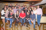 Niall O'Connor, Gurrane East, Killorglin, pictured with family and friends as he celebrated his 21st birthday in Kingstons Bar, Killorglin on Saturday night.