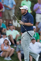Shane Lowry (IRL) on the 18th during the 1st round at the WGC Dell Technologies Matchplay championship, Austin Country Club, Austin, Texas, USA. 22/03/2017.<br /> Picture: Golffile | Fran Caffrey<br /> <br /> <br /> All photo usage must carry mandatory copyright credit (&copy; Golffile | Fran Caffrey)